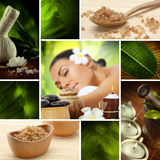 Spa collage Stock Images