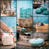 Spa Collage Royalty Free Stock Photos