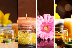 SPA collage Royalty Free Stock Photo