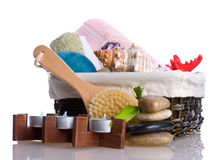 Spa collection royalty free stock photography