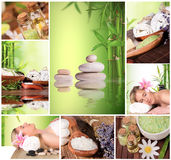 Spa collection Royalty Free Stock Image