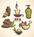 Spa collection Royalty Free Stock Images