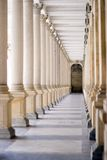 Spa Colonnade Stock Photography