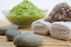 Spa components composition Stock Photography