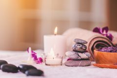 Spa composition setting royalty free stock photos
