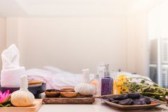 Spa composition setting royalty free stock photo