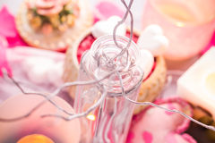 Spa composition Valentines Day heart love body health Stock Photography