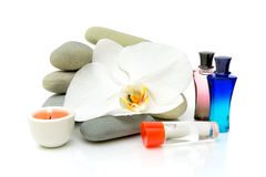 Spa composition on white background Stock Photo