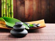 Spa concept. Zen basalt stones Stock Images