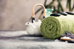 Spa Concept. Selective focus Royalty Free Stock Images
