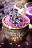 Spa concept with lavender Stock Images