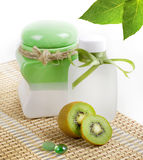 Spa concept. Organic spa products Stock Image
