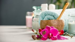Spa Concept. Selective focus Royalty Free Stock Image