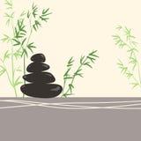 Spa Concept Stylized Zen Basalt Stones Royalty Free Stock Photos