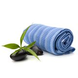 Spa concept. Towel roll. Stock Photo