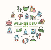 Spa Concept. Vector Stock Photos