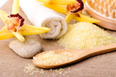 Free Spa Concept Yellow Stock Image - 18901261