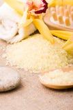 Spa concept yellow Stock Photos