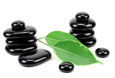 Spa concept zen basalt stones... Stock Image