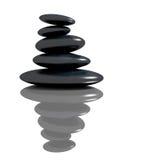 Spa concept zen basalt stones Stock Images