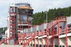 Spa control tower Royalty Free Stock Image