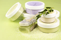 SPA cosmetics Stock Photography