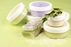 SPA cosmetics stock photography