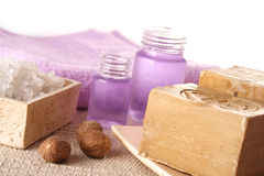 SPA cosmetics series stock photography