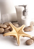 SPA cosmetics series stock photos