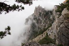 SPA crimean Βουνά Καλοκαίρι υπόλοιπο στοκ φωτογραφία με δικαίωμα ελεύθερης χρήσης