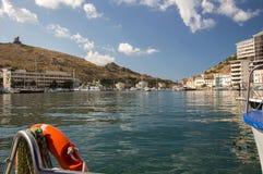 SPA crimean Θάλασσα Καλοκαίρι υπόλοιπο στοκ εικόνες με δικαίωμα ελεύθερης χρήσης