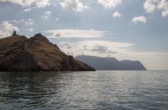 SPA crimean Θάλασσα Καλοκαίρι υπόλοιπο στοκ εικόνα με δικαίωμα ελεύθερης χρήσης