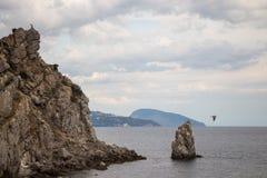 SPA crimean Θάλασσα Καλοκαίρι υπόλοιπο στοκ φωτογραφία
