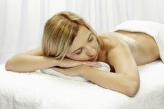 Spa,Dayspa. Spa Woman.Massage.Beauty salon royalty free stock photography