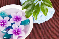 Spa decoration Royalty Free Stock Photos