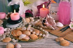 Spa decoration  for relaxation Stock Photo