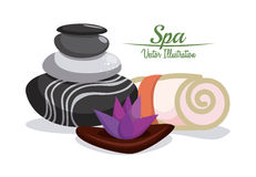 Spa design Stock Image