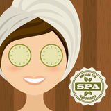 Spa design Royalty Free Stock Photography
