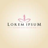 Spa e logo di Company immagini stock