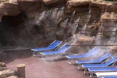 Spa in Egypt Royalty Free Stock Photo
