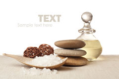 Spa elements Royalty Free Stock Images