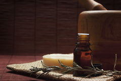 Spa essence oil Royalty Free Stock Image