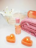 Spa essences Stock Photography