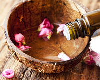 Spa Essential Oil Stock Images