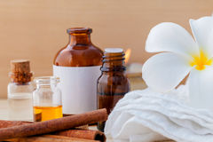 Spa Essential Oil Royalty Free Stock Images