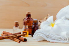 Spa Essential Oil Natural Spas Ingredients. Spa Essential Oil  Natural Spas Ingredients for aroma aromatherapy Stock Images