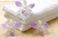 Spa essentials Stock Images