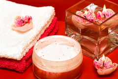 Spa essentials Stock Photography
