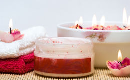 Spa essentials Royalty Free Stock Images