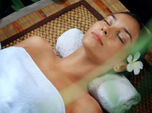 Spa face stock photography